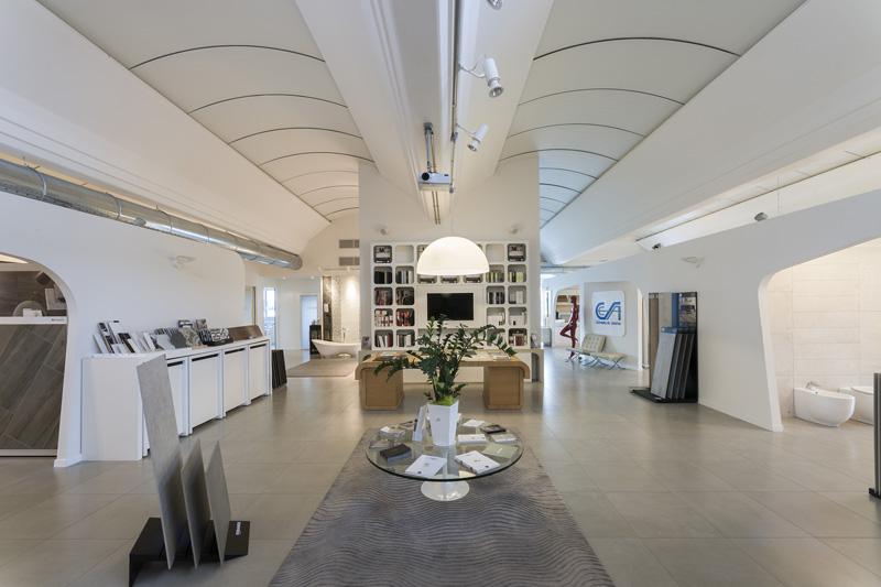 CESA Ceramiche Santin Milano Showroom