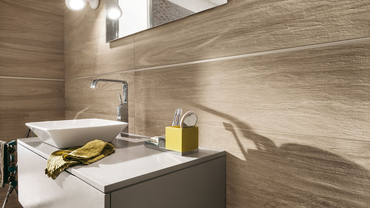 Ceramiche santin progetta realizza e ristruttura il tuo bagno cesa ceramiche santin milano - Bagno finto legno ...