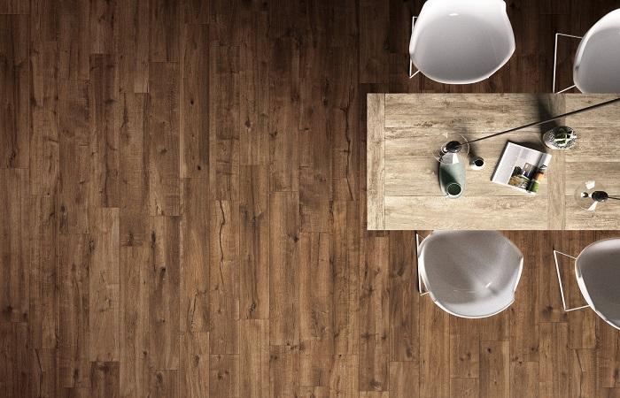 L interior design tra natura e tecnologia il gres effetto for Marazzi ceramiche effetto legno