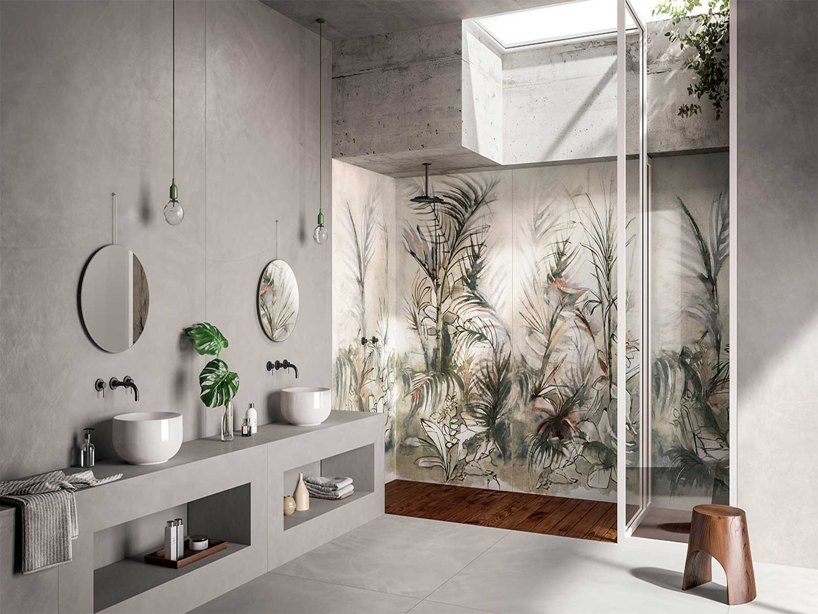 Ceramiche Santin Grandi lastre Dream Jungle 120x240 di Fondovalle