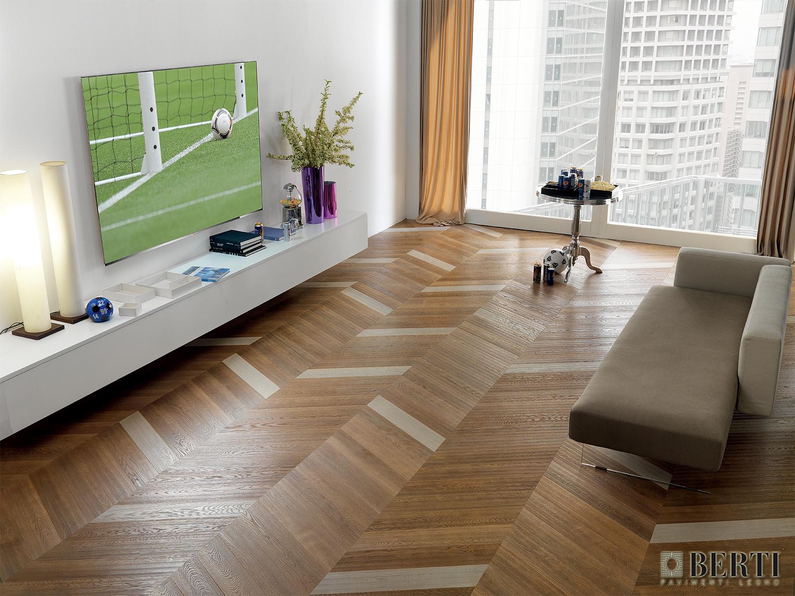 Berti pavimenti in legno spina